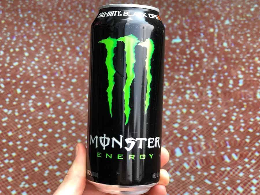 16 fl.oz can of Monster Energy.