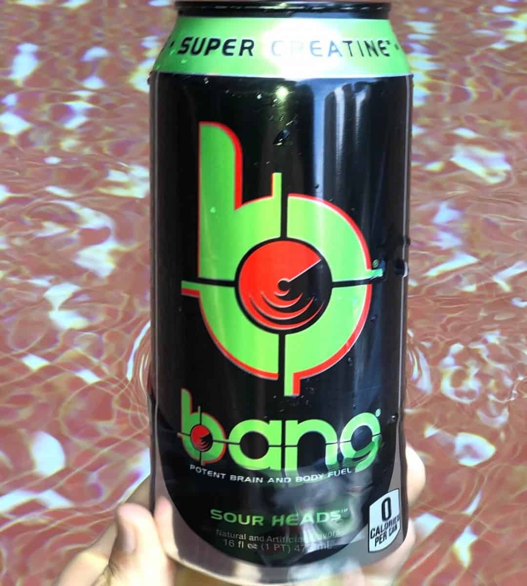 Bang Energy Drink Sour Heads Flavor
