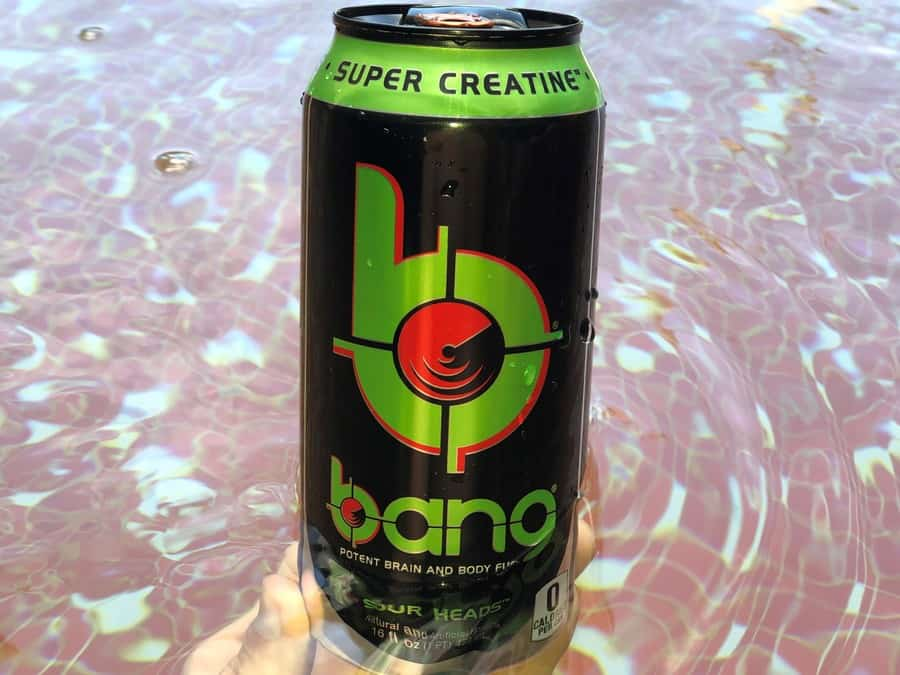 A can of Bang Sour Heads.