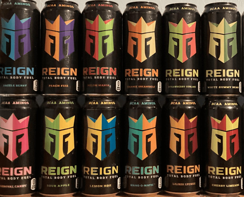 Reign Energy Drink Flavors