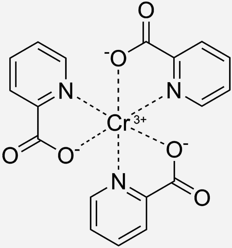 Chromium Picolinate chemical structure