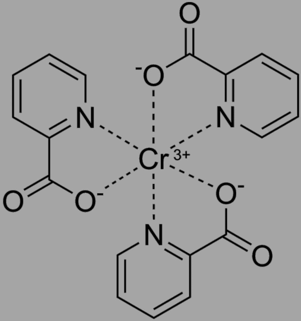 Chromium picolinate structure