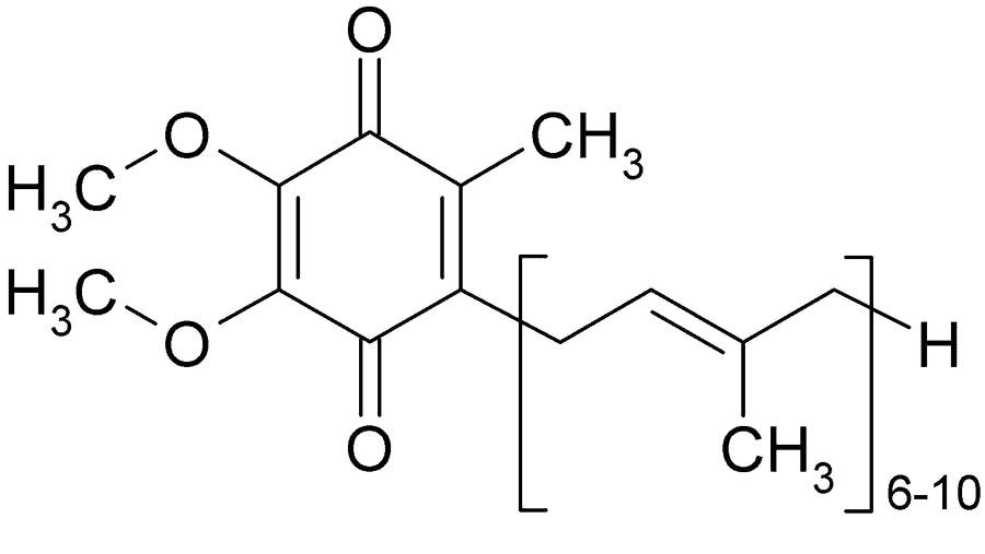 CoQ10 Chemical Structure