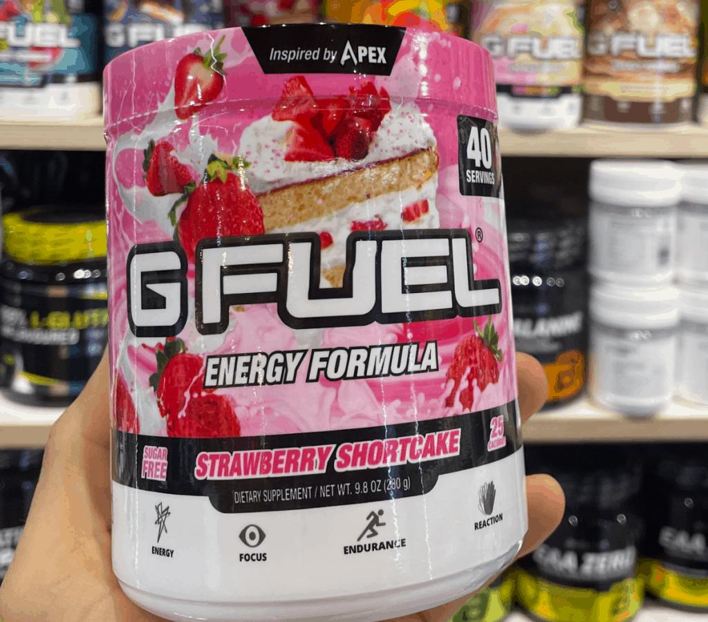 G Fuel Energy Formula Stawberry Shortcake Flavor