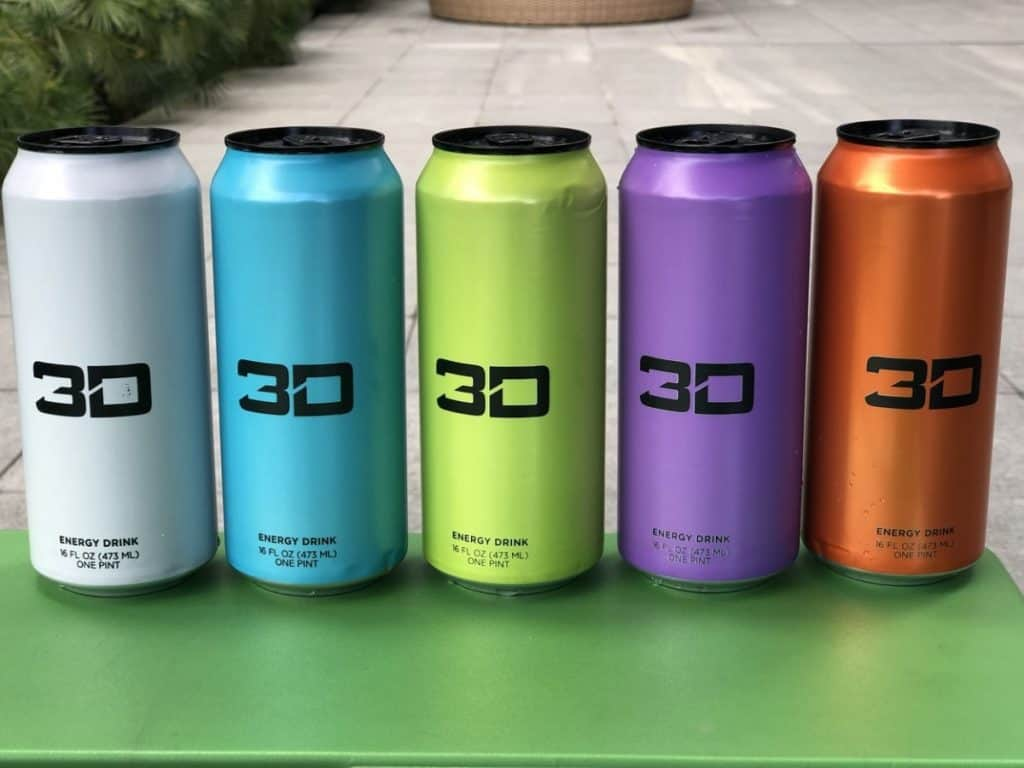 3D Energy cans