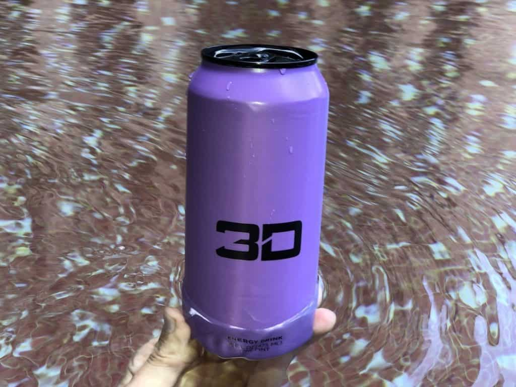 A single can purchase of 3D Energy starts at $2.49.