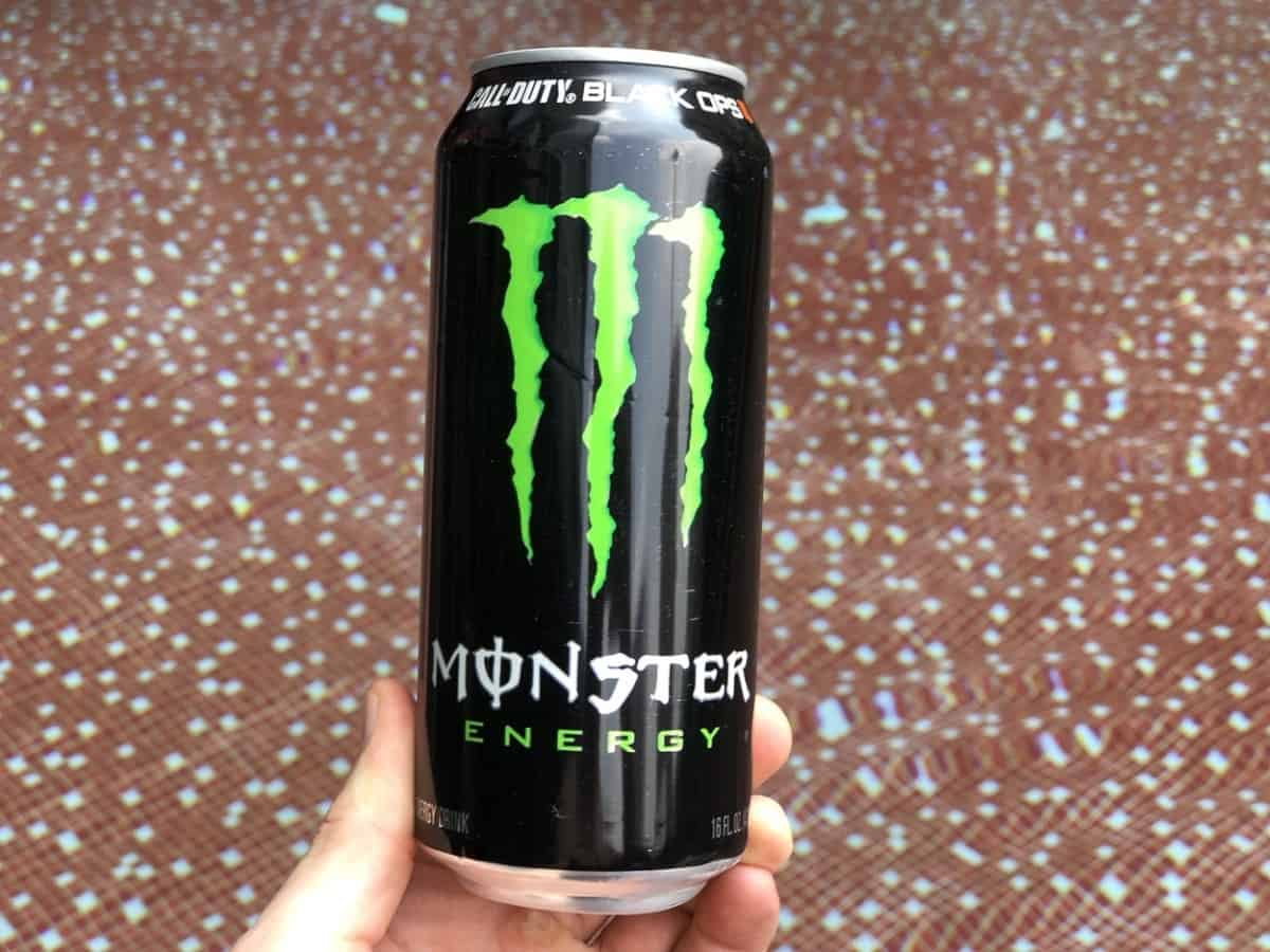 Monster Energy Drink Front