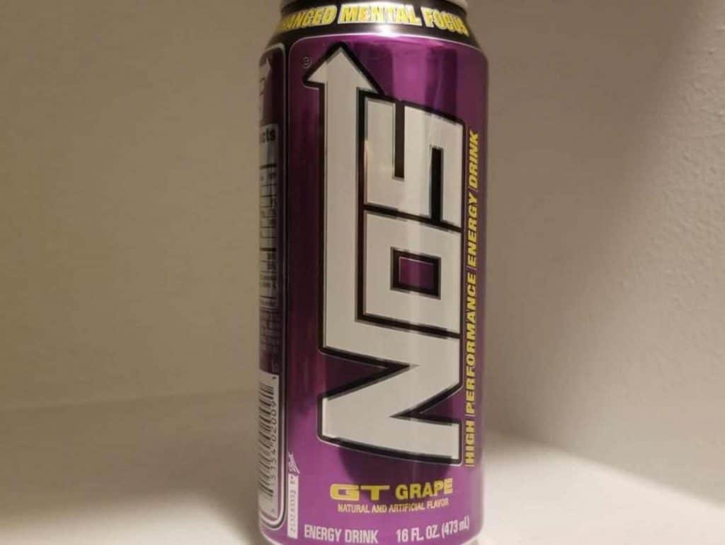 NOS Energy Drink Grape