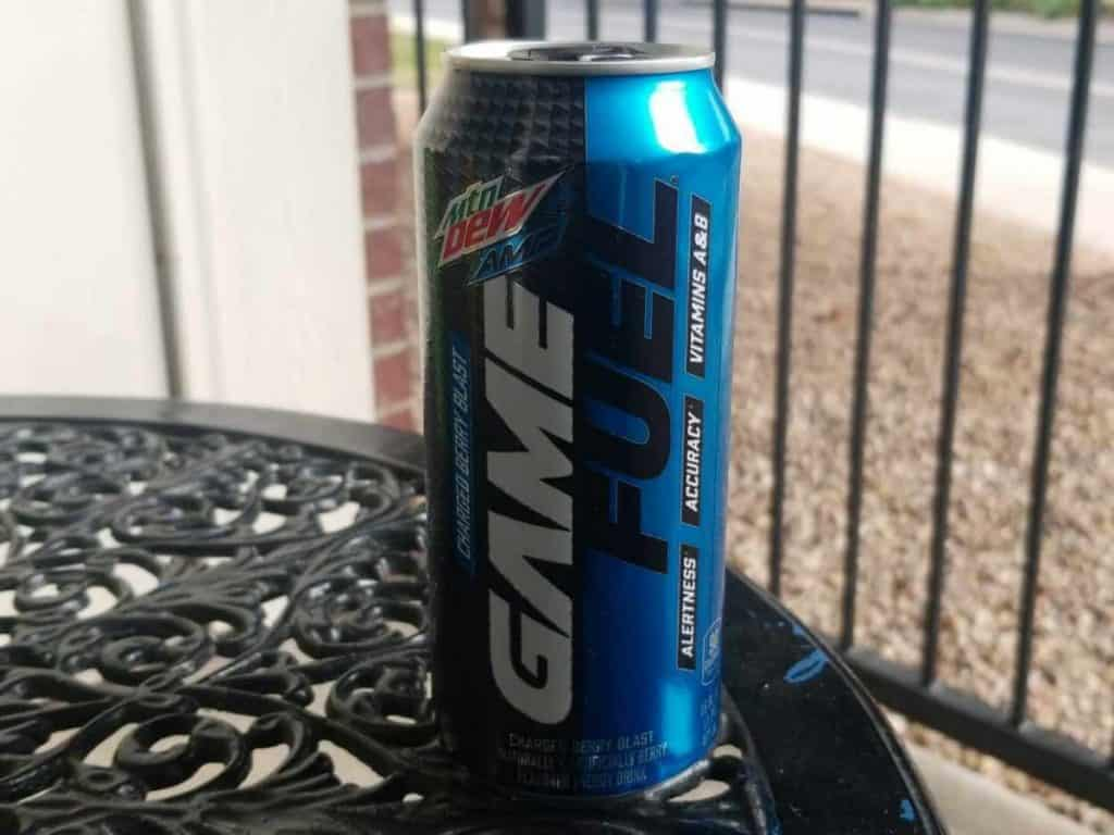 A can of Game Fuel
