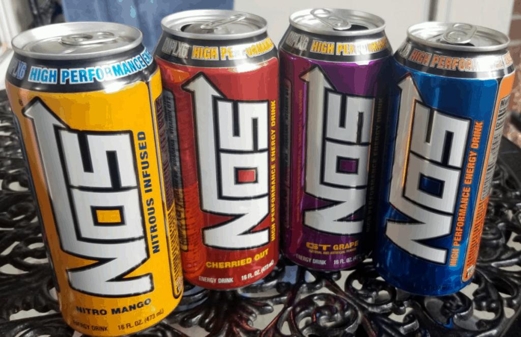 NOS Flavor range