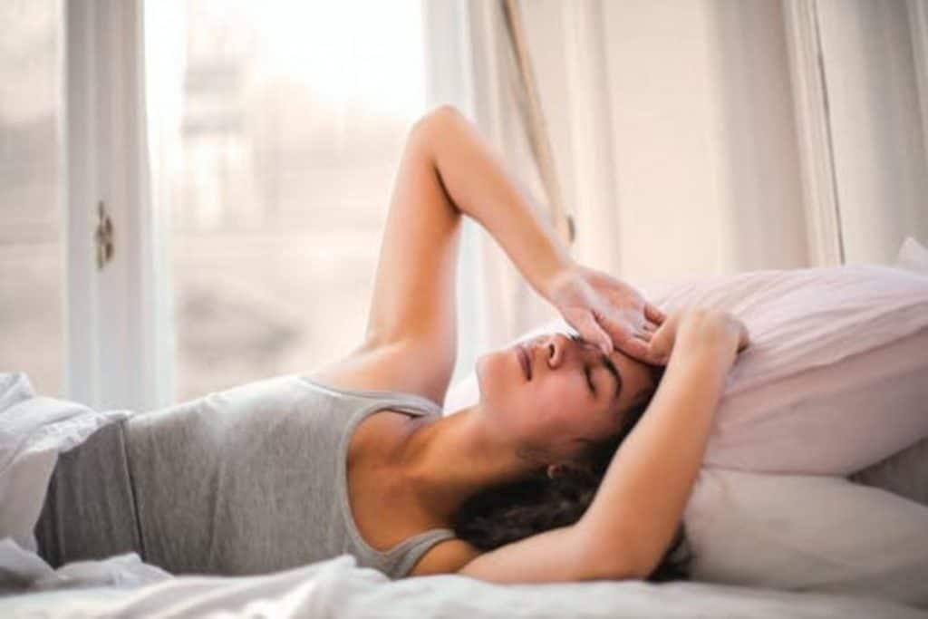 Headache due to caffeine overdose