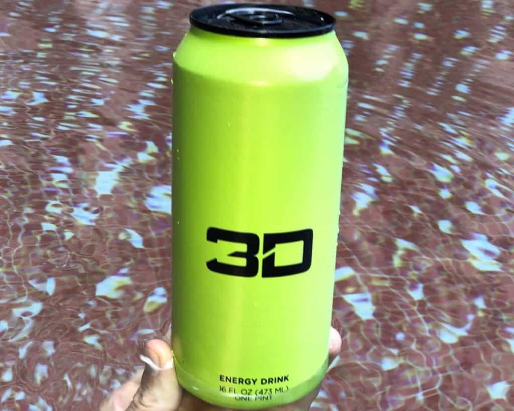Lime Green 3D Energy