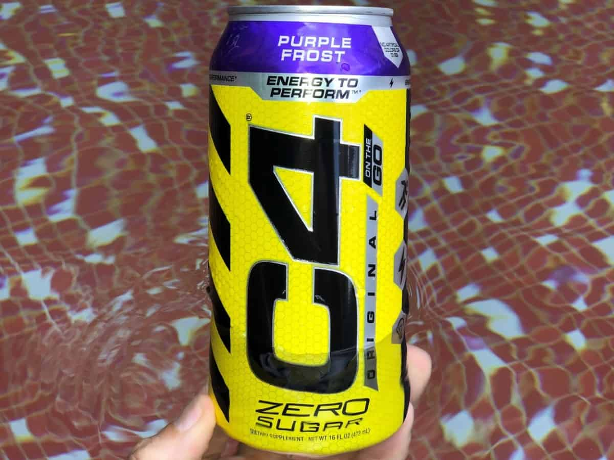 A can of C4 Energy.