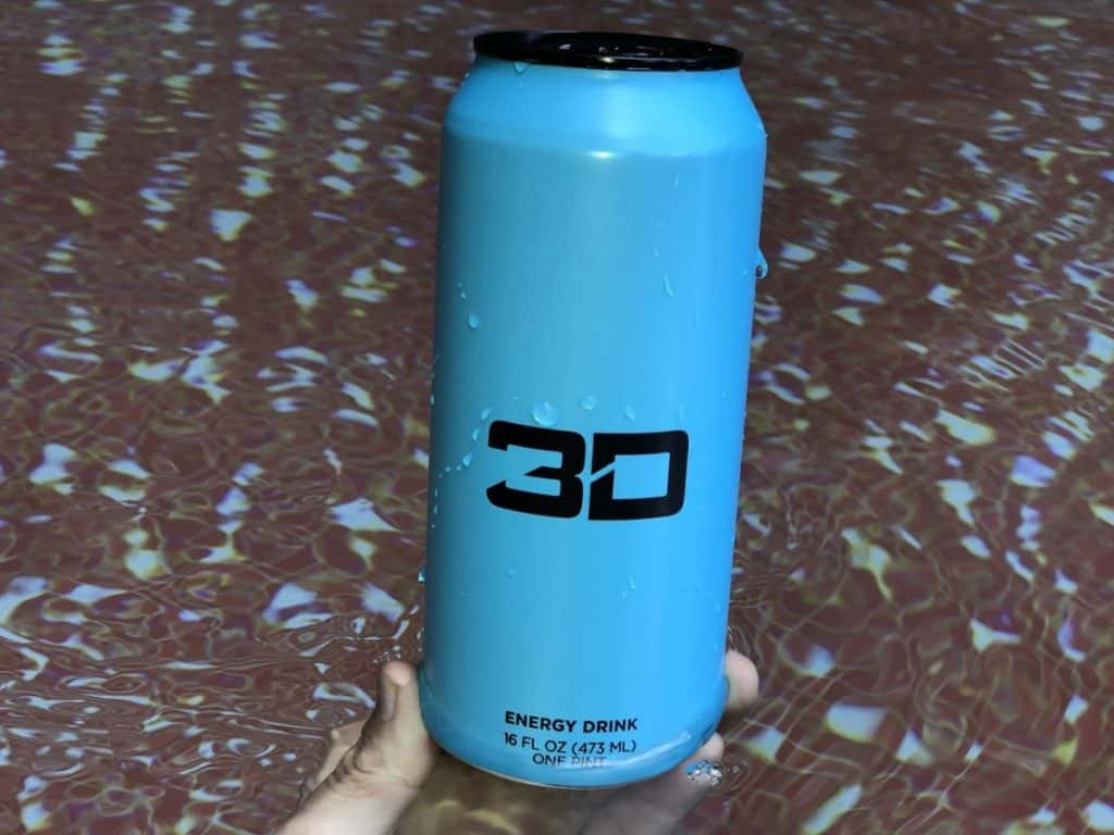 3D Energy drink can