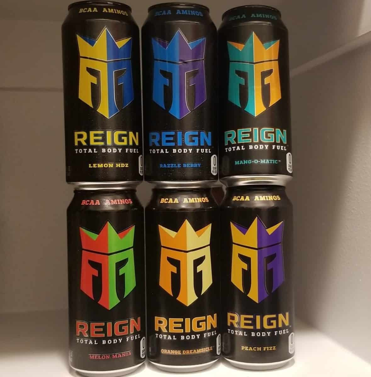 Reign Energy Drink Cans