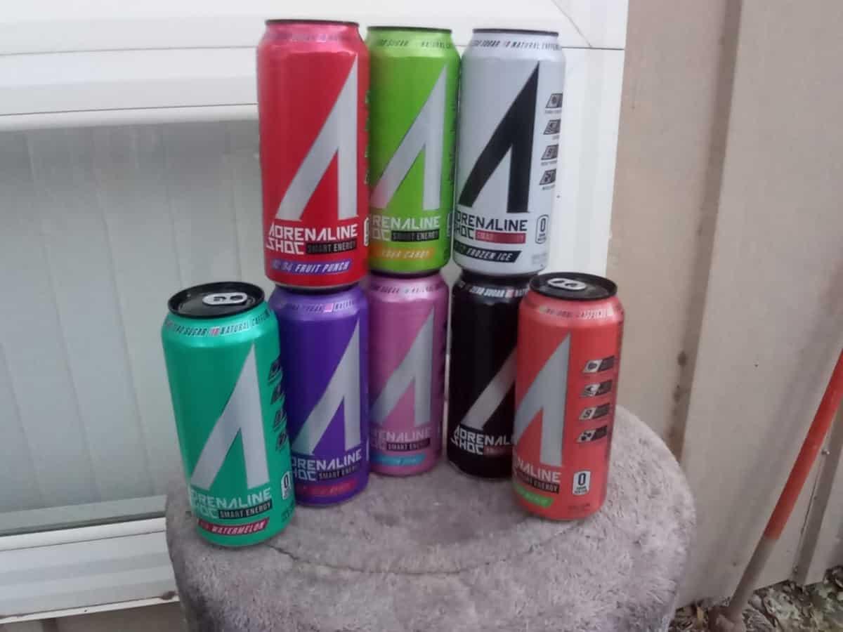 Adrenaline Shoc Flavors