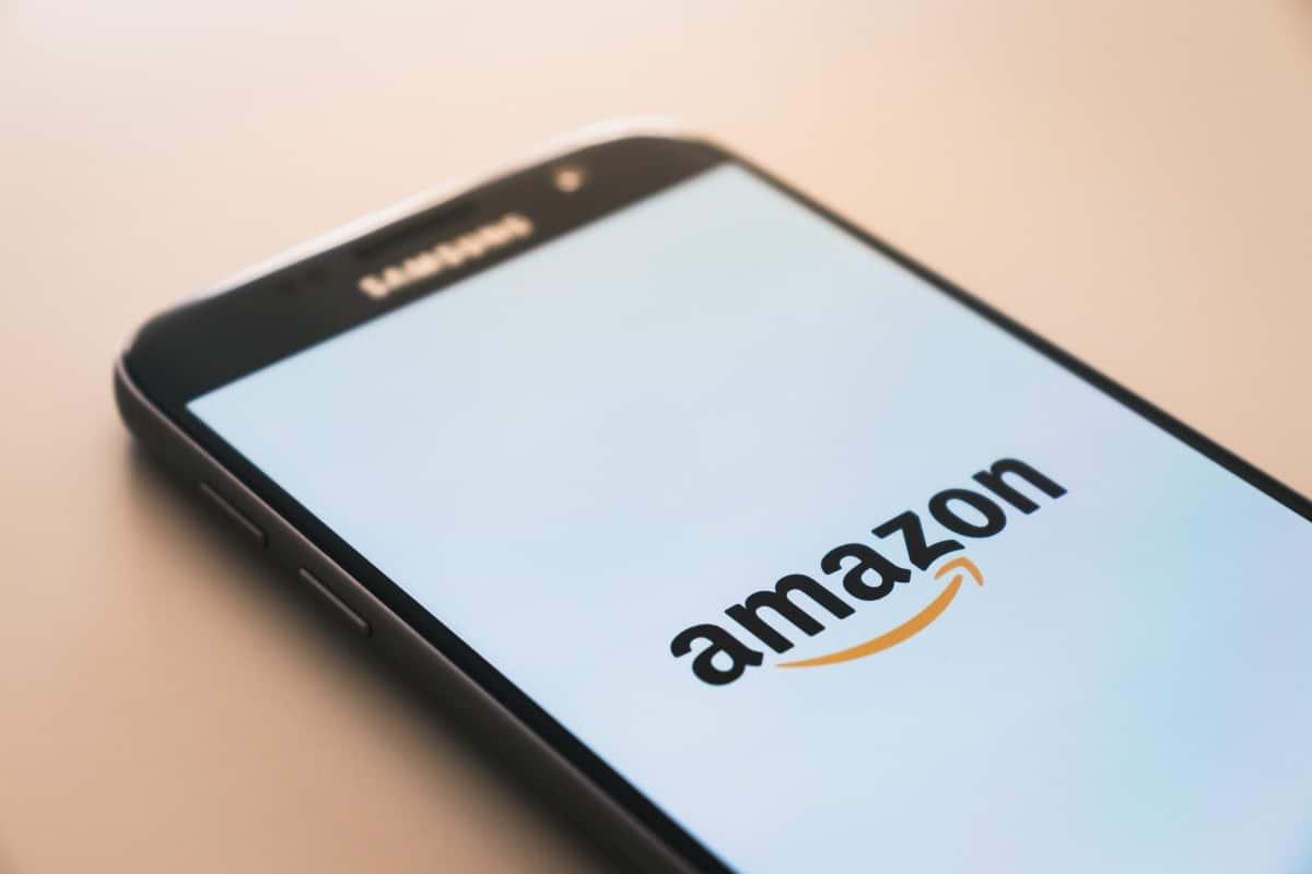 Amazon app on a samsung phone