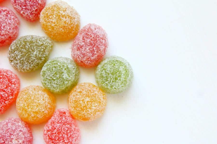 Sugar in candies