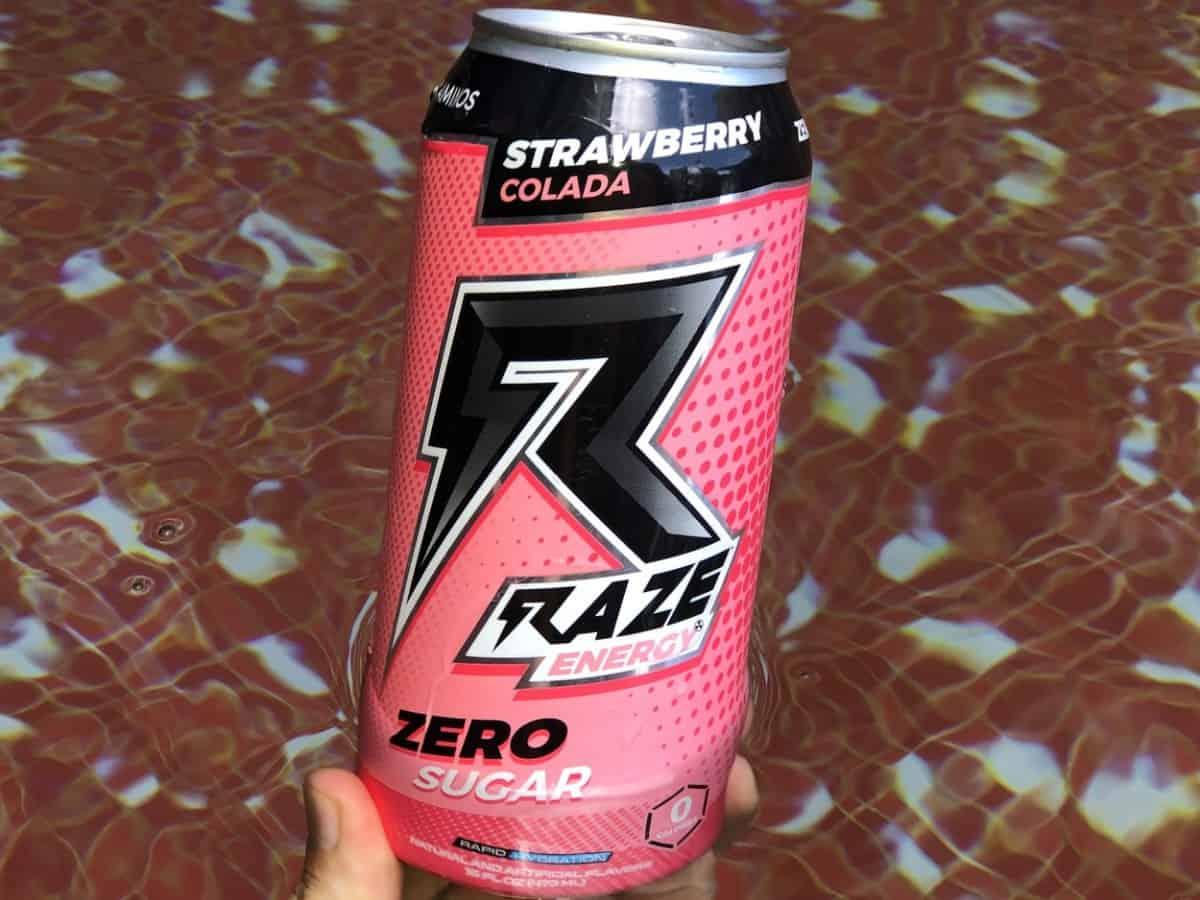 Raze Energy Drink Strawberry Cola