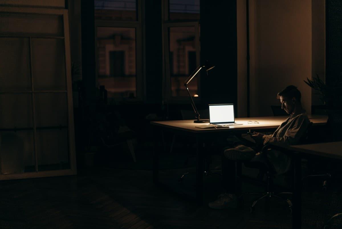 Late night work