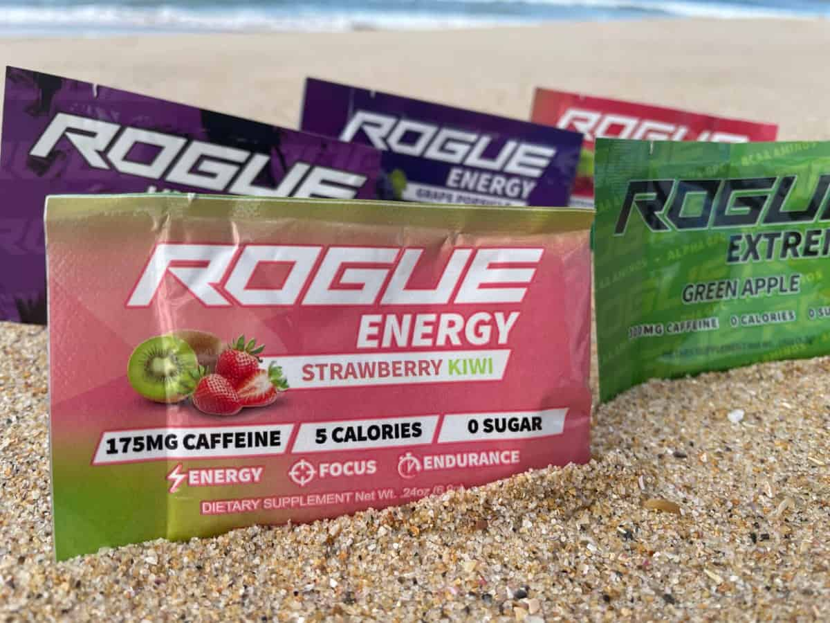 Rogue Energy flavors