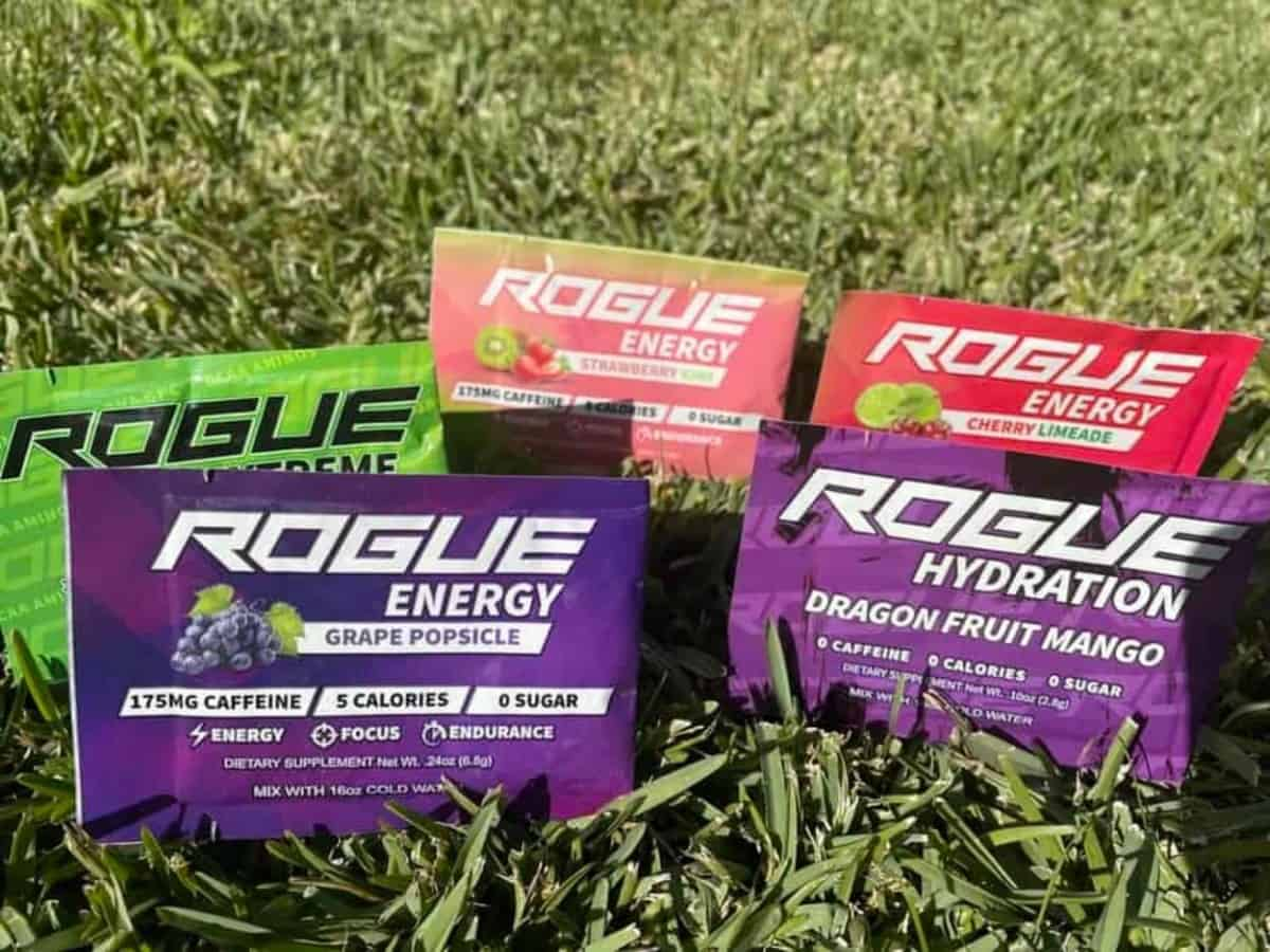 Rogue Energy Drink Flavors