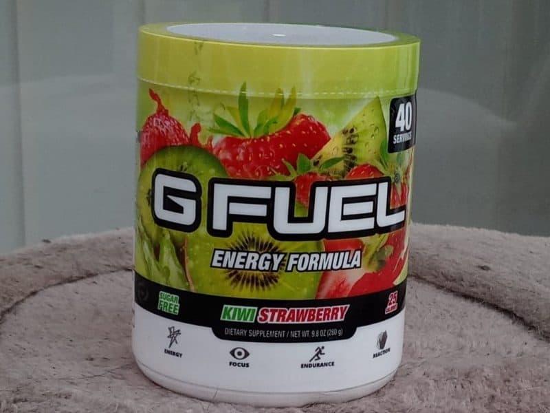 G Fuel Kiwi Strawberry flavor
