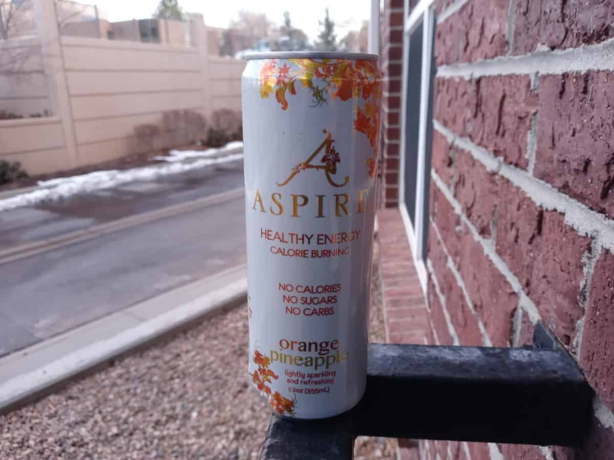 Can of Aspire energy
