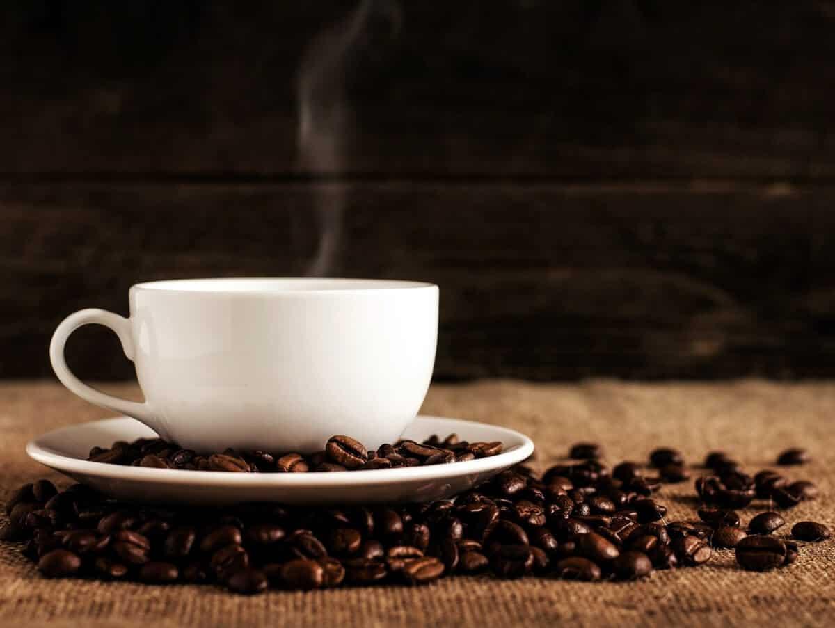 coffee cup and caffeine