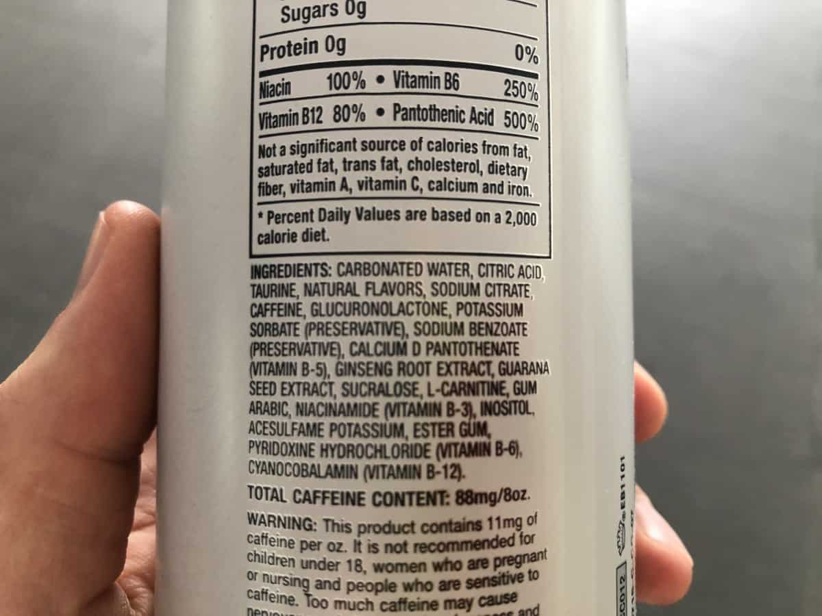 Xyience Ingredients