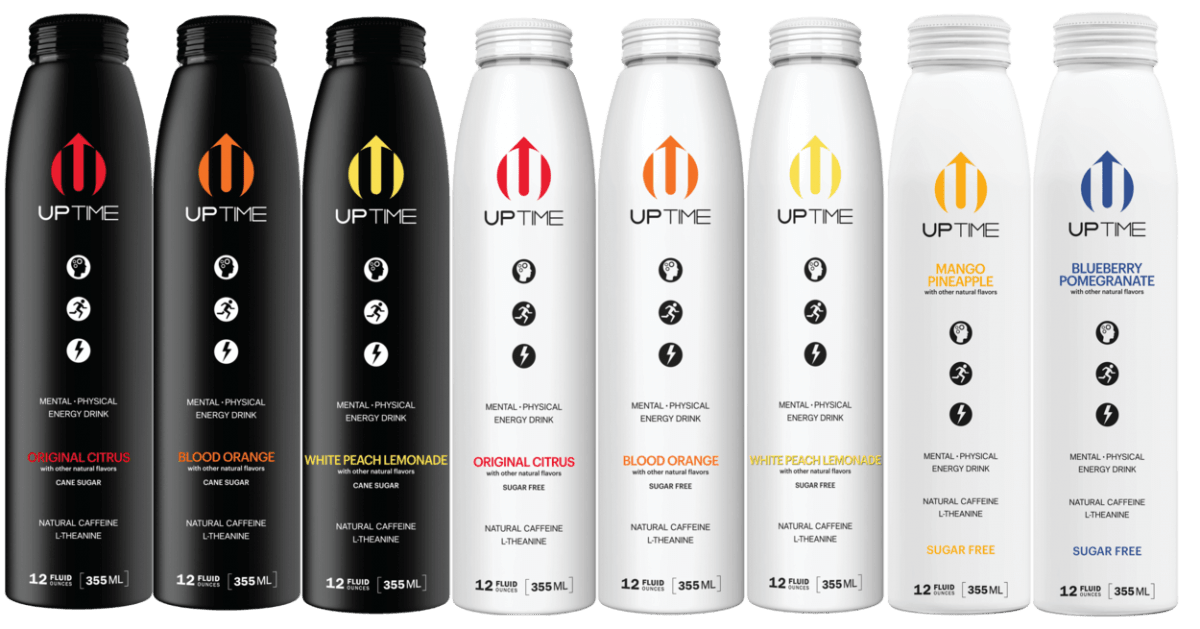 Uptime Energy Drink Flavors